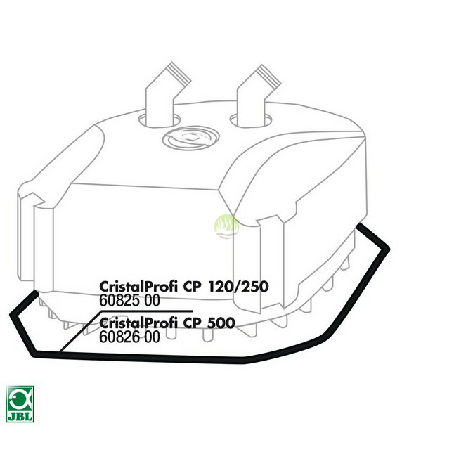 Uszczelka pod głowicę JBL CristalProfi 120/250