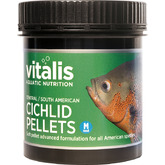 Vitalis C/S American Cichlid Pellets M 6mm [120g/250ml]