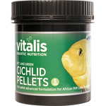 Vitalis Rift Lake Cichlid Pellets Green S 1,5mm [300g/500ml]