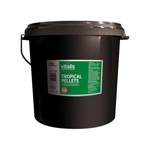 Vitalis Tropical Pellets S 4mm [1,8kg] - granulat