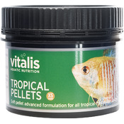Vitalis Tropical Pellets XS 1mm [120g /250ml] - granulat