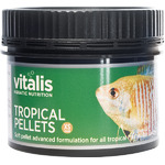 Vitalis Tropical Pellets XS 1mm [300g /500ml] - granulat