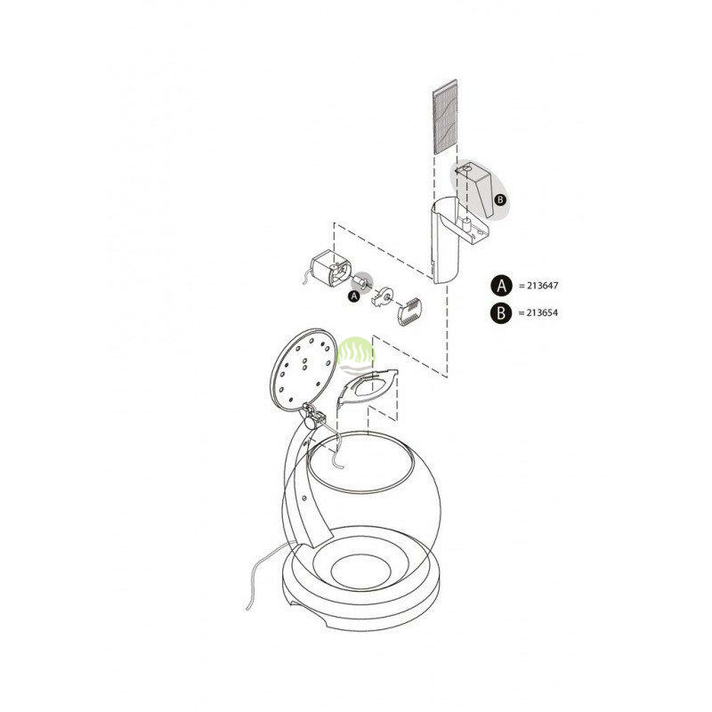 Wirnik do filtra Tetra Cascade Globe (T213647)