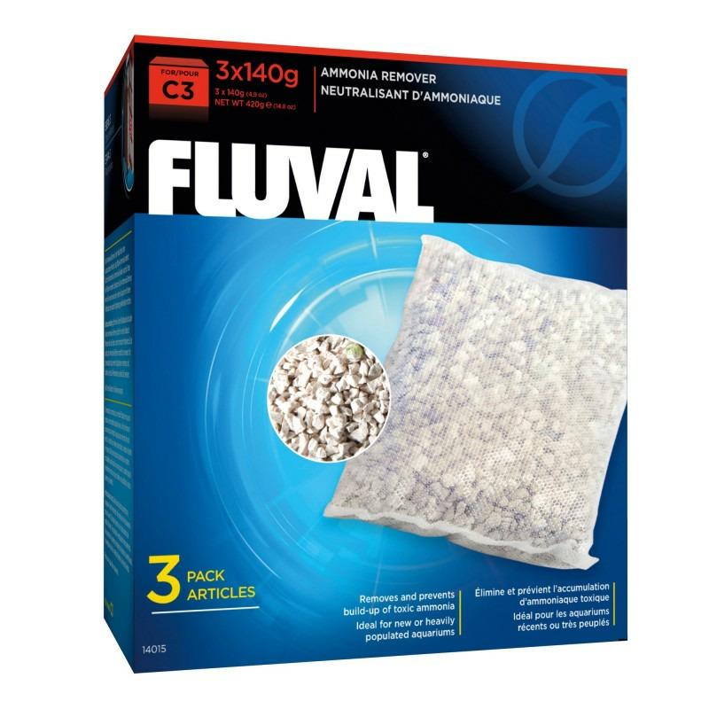 Wkład Ammonia Remover do filtra Fluval C3 [3x140g] - usuwa amoniak