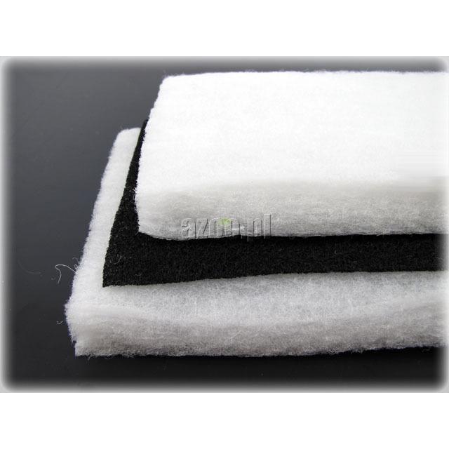 Wkład AZOO Dual Active Carbon Sponge [3szt] - gąbki + węgiel aktywny