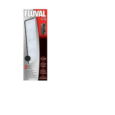 Wkład do filtra FLUVAL U3: węgiel aktywny + fizelina