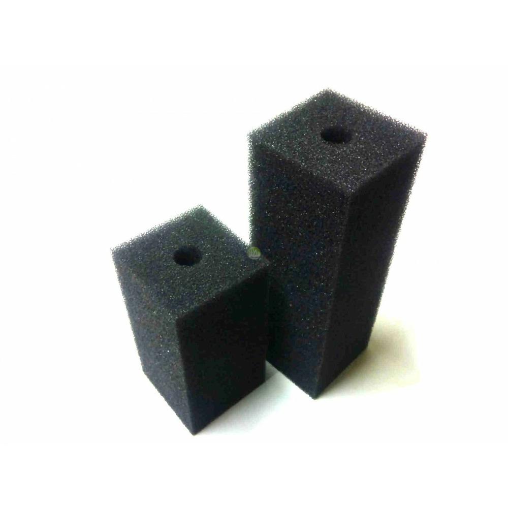 Wkład filtracyjny - gąbka 15x10x10cm 10PPI - czarna