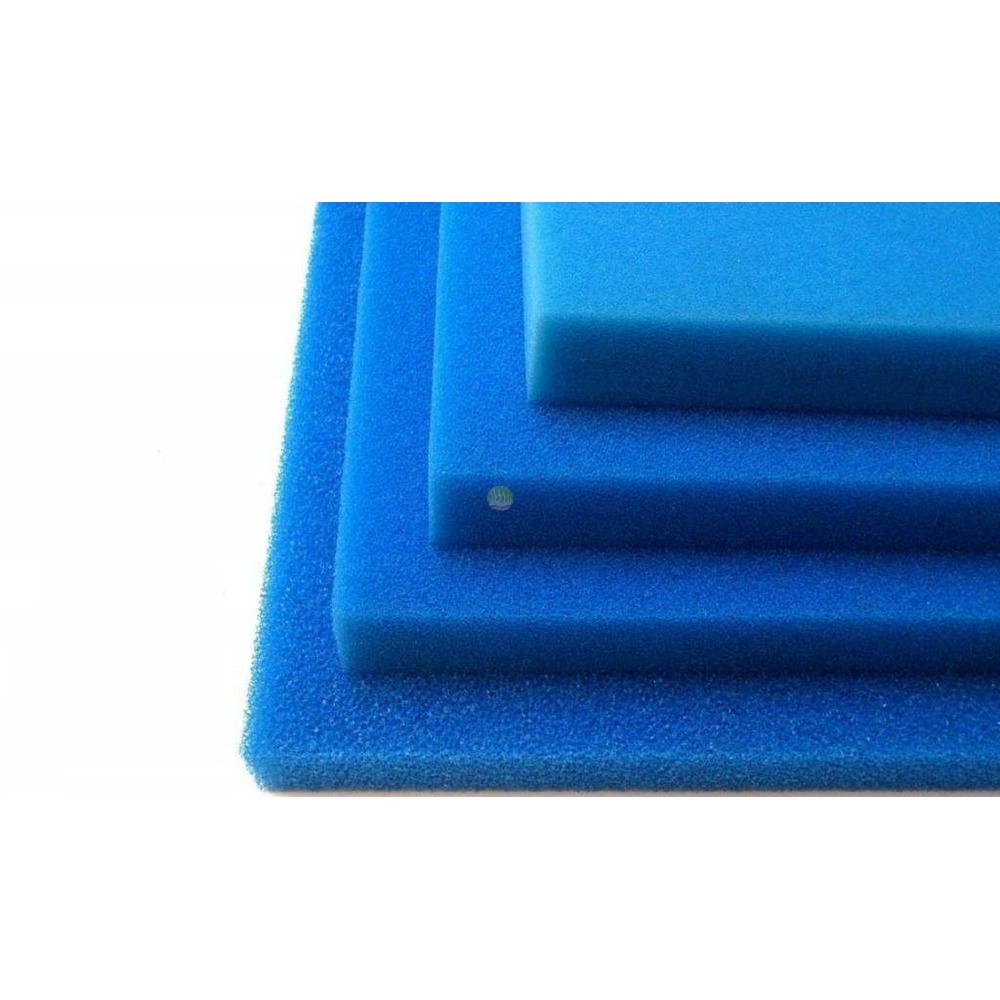 Wkład filtracyjny - gąbka 35x30x3cm 45PPI - niebieska