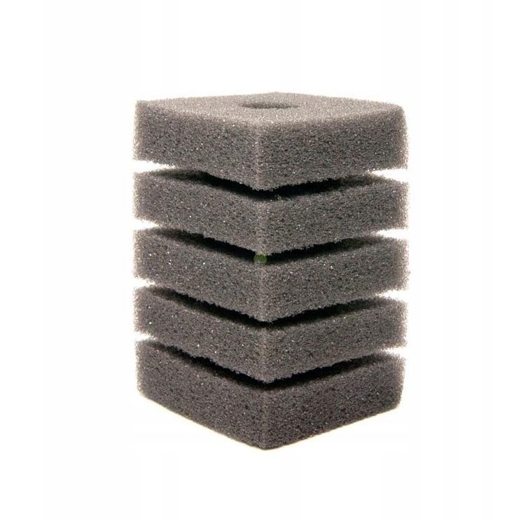 Wkład gąbka do filtra, kwadratowa [12x7cm]