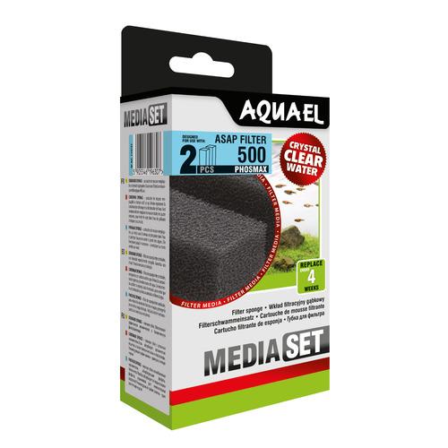 Wkład gąbkowy Aquael ASAP 500 PHOSMAX [2szt] (113737)