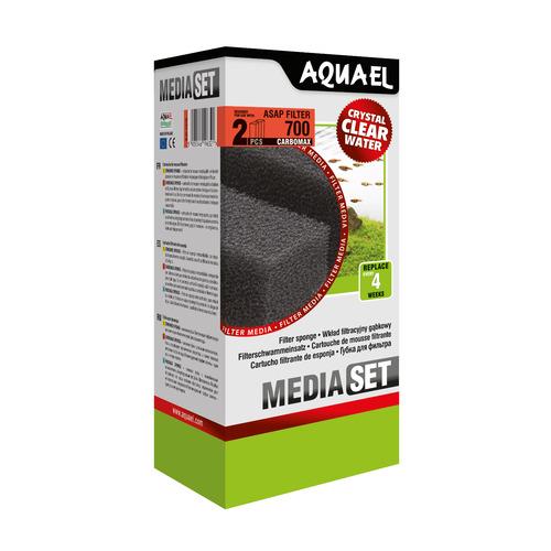 Wkład gąbkowy Aquael ASAP 700 CARBOMAX [2szt] (113740)