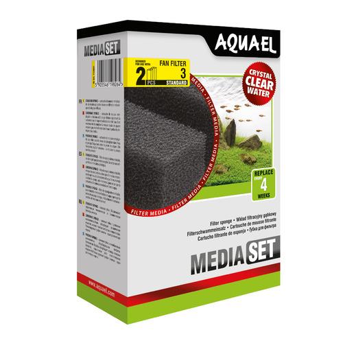 Wkład gąbkowy Aquael FAN 3 Plus STANDARD [2szt]