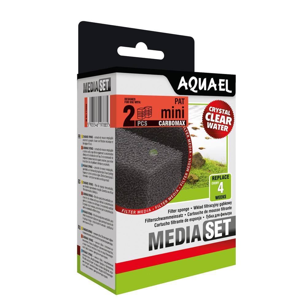 Wkład gąbkowy Aquael PAT MINI CARBO [2szt] (113868)
