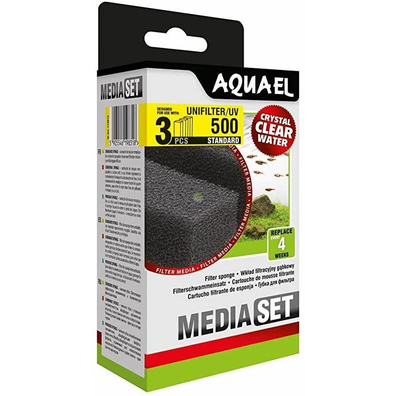 Wkład gąbkowy Aquael Unifilter 500 STANDARD [3szt] (113913)