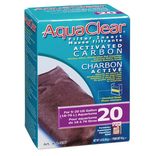 Wkład węglowy do filtra AquaClear 20