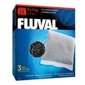 Wkład węglowy do filtra Fluval C3 [3x70g]