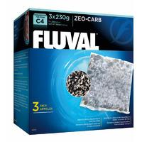 Wkład węglowy Zeo-Carb do filtra Fluval C4 [3x230g]