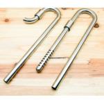Wlot i wylot metalowy Metal jet pipe SET L [16/22mm] - komplet
