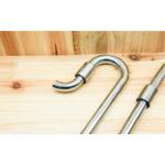 Wlot i wylot metalowy Metal jet pipe SET M [12/16mm] - komplet