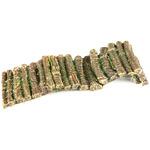 WOOD BARRIER -L - Drewniana zapora/palisada 24x5x8,6cm