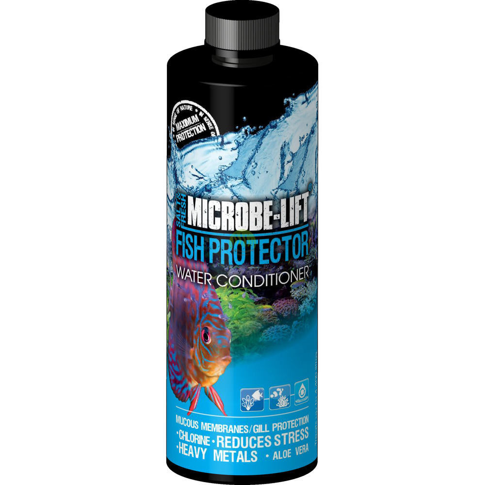 Wycofane: Microbe-Lift Fish Protector (Aquatic Stress Relief) [3.79l]