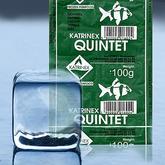 Zestaw 10x Pokarm mrożony QUINTET 2 - zielony [100g] - odbiór osobisty