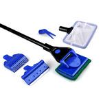 Zestaw akcesoriów do czyszczenia akwarium 5w1 (AquaNova)