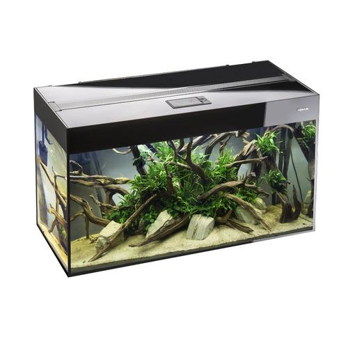 Zestaw akwariowy AquaEl GLOSSY 80 (125l, 80x35x54cm) - czarny