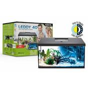 Zestaw akwariowy Aquael LEDDY 75 D&N 2.0 - czarny (odbiór osobisty)