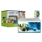 Zestaw akwariowy Aquael LEDDY DAY & NIGHT PAP-40 - biały