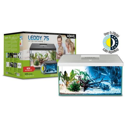 Zestaw akwariowy Aquael LEDDY DAY & NIGHT PAP-75 - biały (odbiór osobisty)