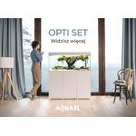 Zestaw akwariowy Aquael OPTISET 200 - biały (tylko odbiór osobisty)