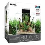 Zestaw akwariowy Fluval EDGE 2.0 z filtracją i oświetleniem LED [46l] - czarny