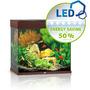 Zestaw akwariowy JUWEL Lido 120 (LED) - ciemne drewno