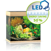 Zestaw akwariowy JUWEL Lido 120 (LED) - jasne drewno (dąb)