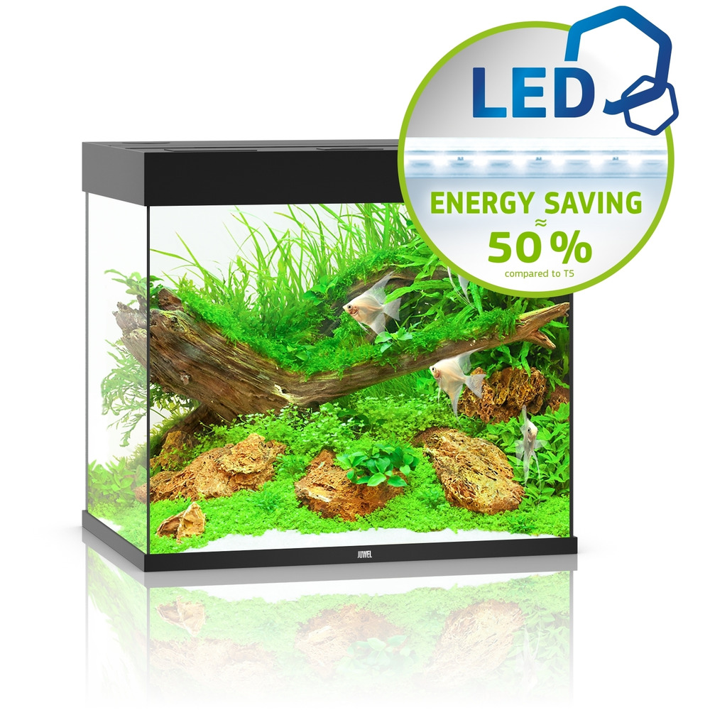 Zestaw akwariowy JUWEL Lido 200 (LED) - czarny
