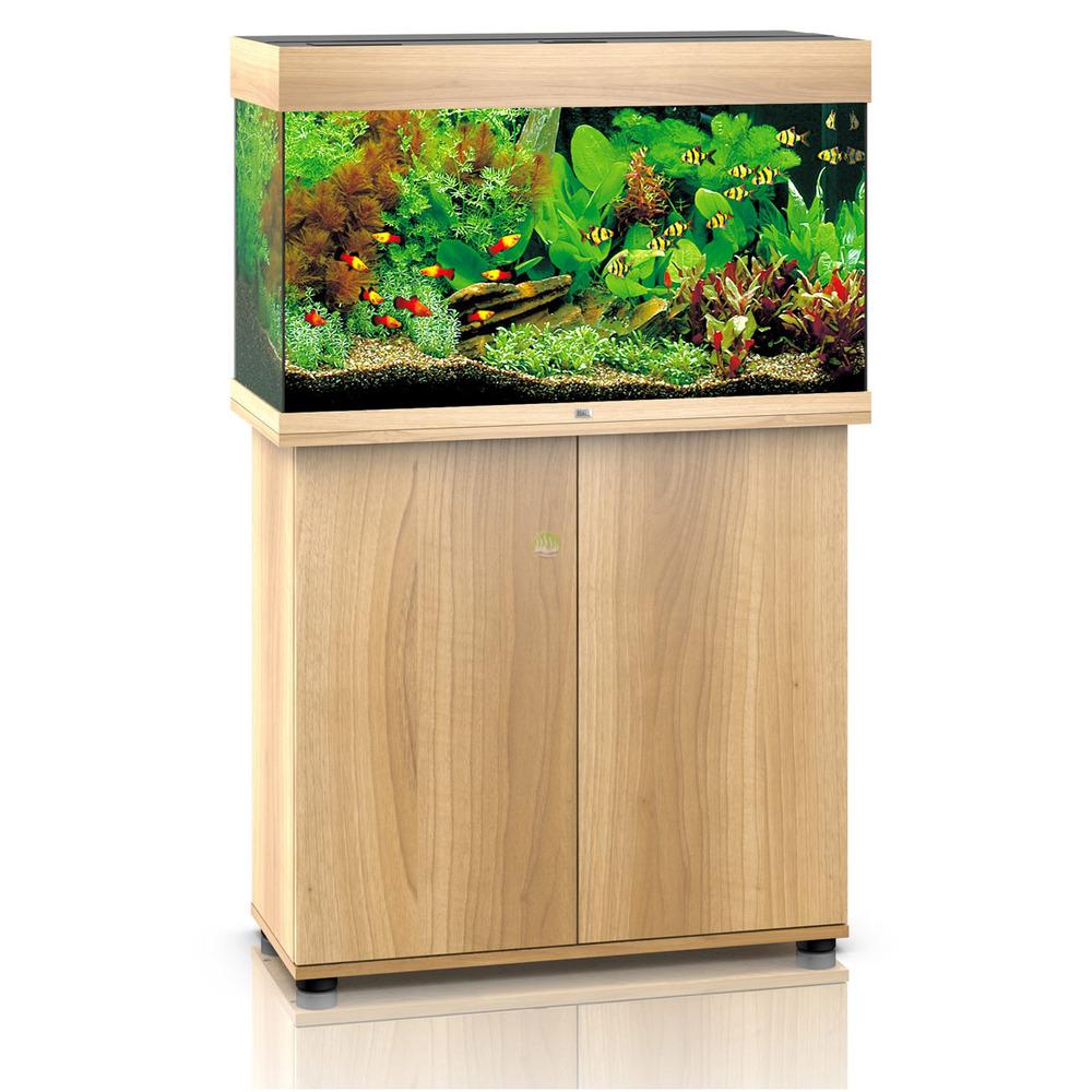 Zestaw akwariowy JUWEL Rio 125 (LED) + SZAFKA - jasne drewno (dąb).