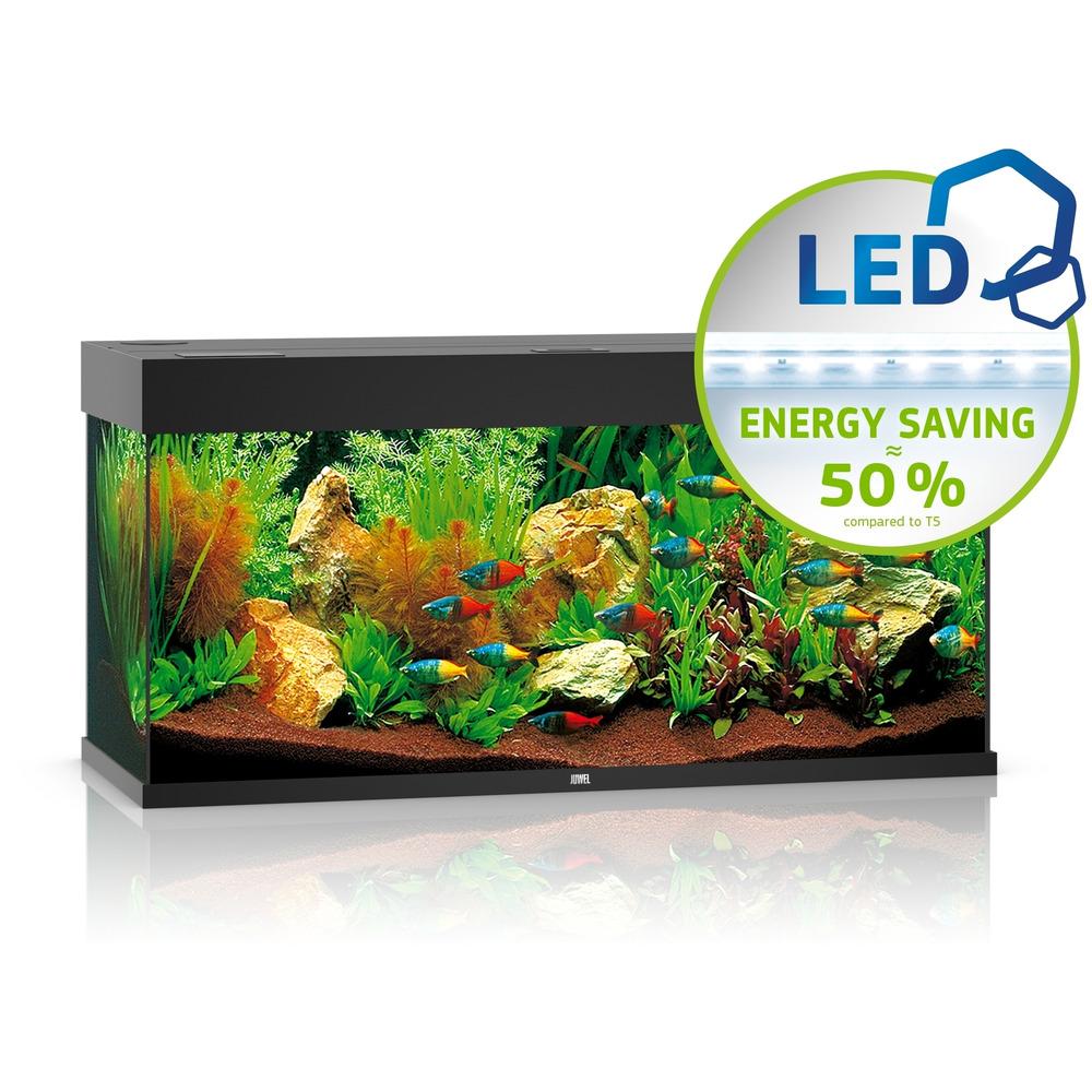 Zestaw akwariowy JUWEL Rio 180 (LED) - czarny.