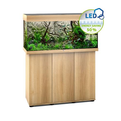 Zestaw akwariowy JUWEL Rio 180 (LED) + SZAFKA - jasne drewno (dąb).