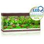 Zestaw akwariowy JUWEL Rio 240 (LED) - ciemne drewno.