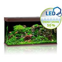 Zestaw akwariowy JUWEL Rio 350 (LED) - ciemne drewno.