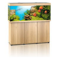 Zestaw akwariowy JUWEL Rio 450 (LED) + SZAFKA - jasne drewno (dąb).