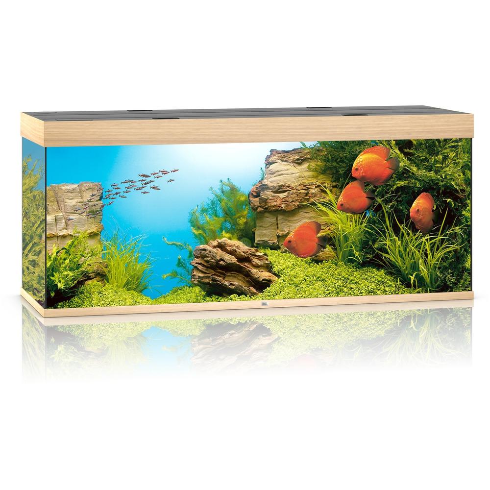 Zestaw akwariowy JUWEL Rio 450 (T5 x2) - jasne drewno (dąb).