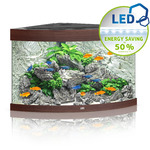 Zestaw akwariowy JUWEL Trigon 190 (LED) - ciemne drewno