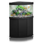 Zestaw akwariowy JUWEL Trigon 190 (LED) + SZAFKA - czarny