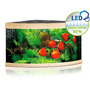 Zestaw akwariowy JUWEL Trigon 350 (LED) - jasne drewno (dąb)