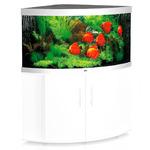 Zestaw akwariowy JUWEL Trigon 350 (LED) + SZAFKA - biały