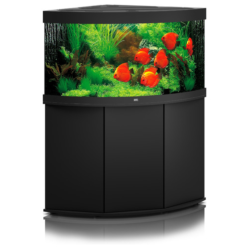 Zestaw akwariowy JUWEL Trigon 350 (LED) + SZAFKA - czarny
