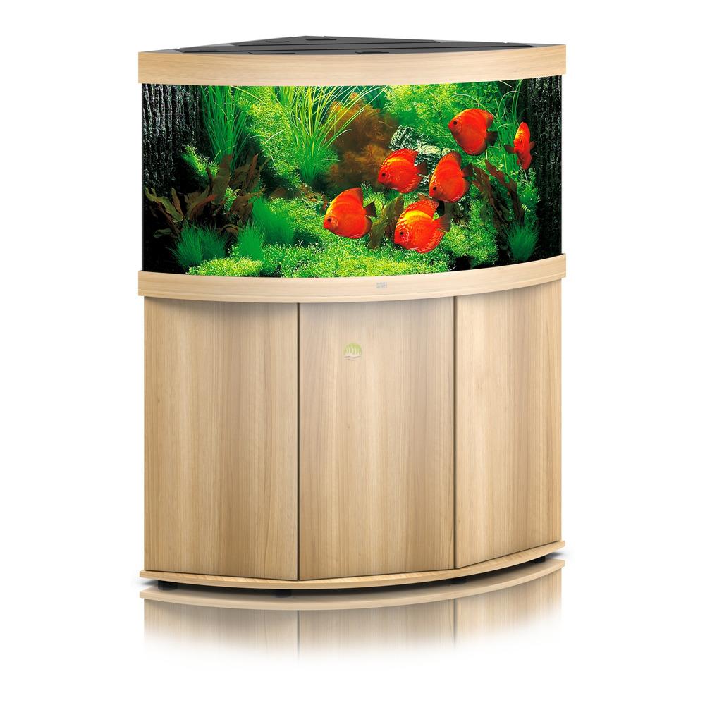 Zestaw akwariowy JUWEL Trigon 350 (LED)  + SZAFKA - jasne drewno (dąb)