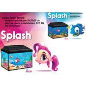 Zestaw akwariowy Splash 30 (czarny)
